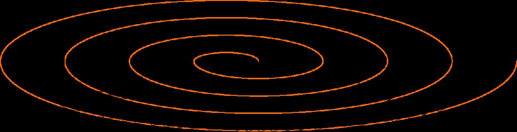 Logo Raum zum Sein Spirale